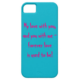 About Love iPhone SE/5/5s Case
