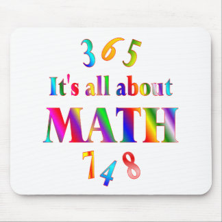 About Math Mouse Pad