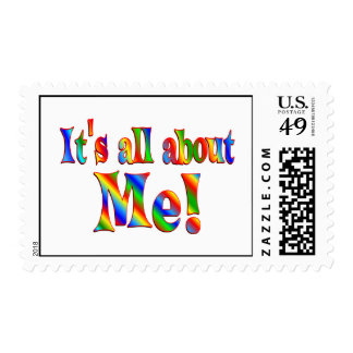 About Me Postage Stamps
