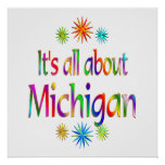 About Michigan Posters