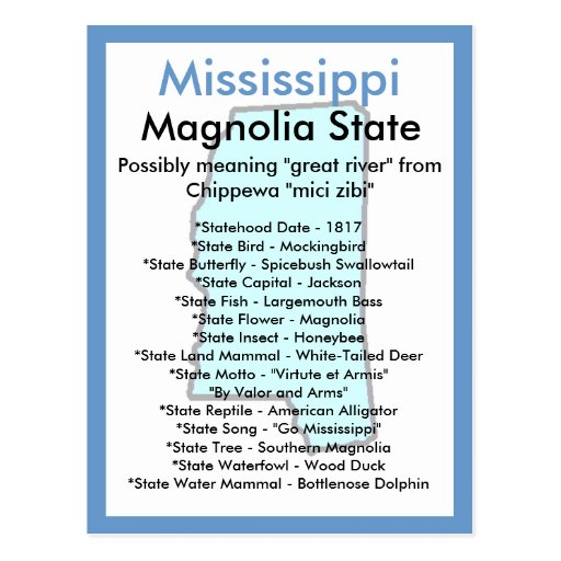 About Mississippi Postcards