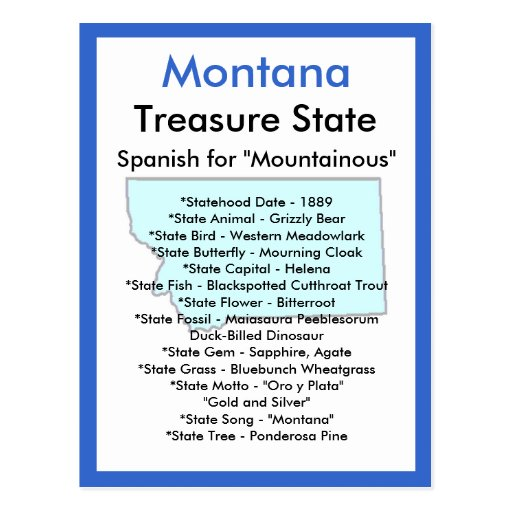 About Montana Post Cards