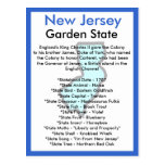 About New Jersey Postcard