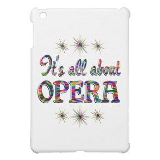 About Opera iPad Mini Cover