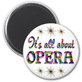About Opera Fridge Magnets