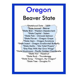 About Oregon Postcards