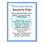 About Pennsylvania Postcard