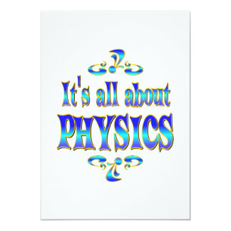 ABOUT PHYSICS CARD