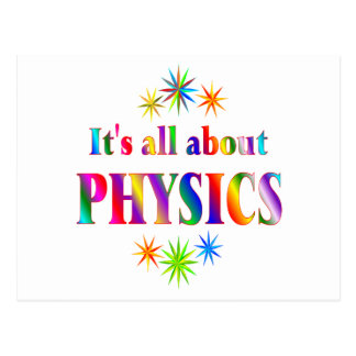 About Physics Postcard