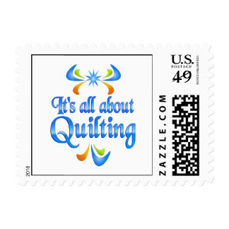 About Quilting Postage