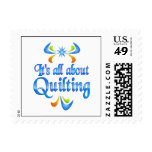 About Quilting Postage Stamp