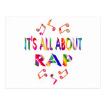 About Rap Postcard