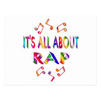 About Rap Postcards