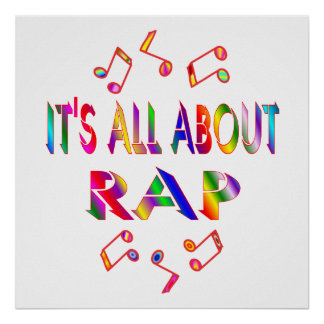 About Rap Poster