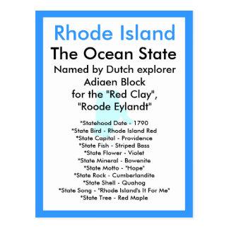 About Rhode Island Postcard