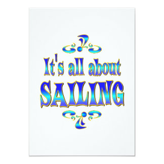 ABOUT SAILING CARD