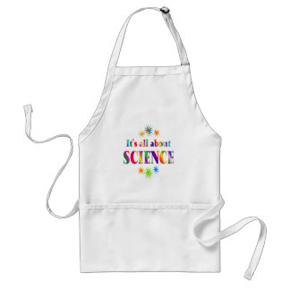 About Science Adult Apron