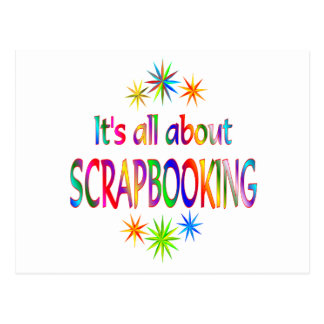 About Scrapbooking Postcard