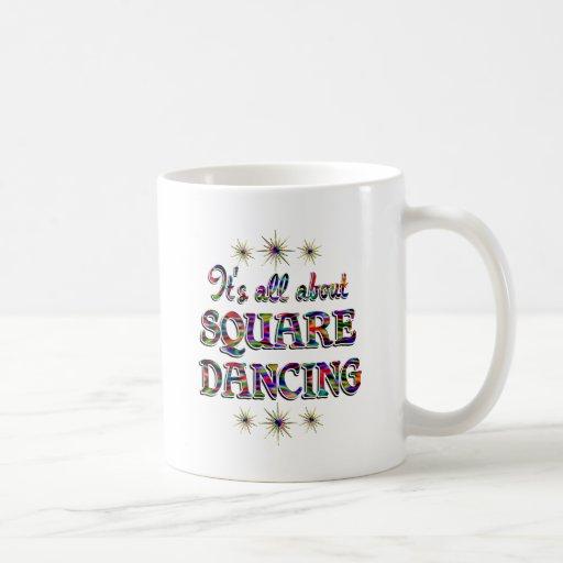 About Square Dancing Coffee Mug