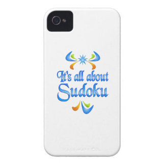 About Sudoku iPhone 4 Case-Mate Cases