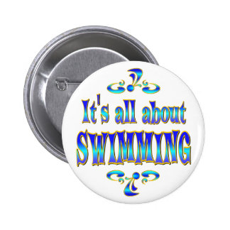 ABOUT SWIMMING PINBACK BUTTONS
