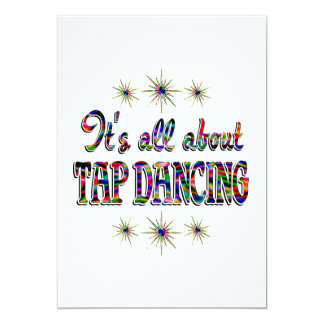 About Tap Dancing Card