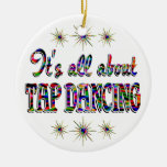 About Tap Dancing Ornaments