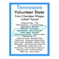 About Tennessee Postcard