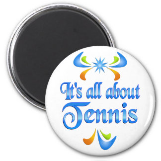 About Tennis Refrigerator Magnet