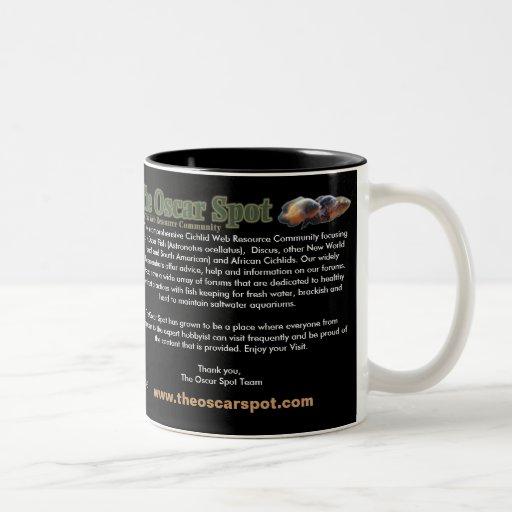 About The Oscar Spot Coffee Mug