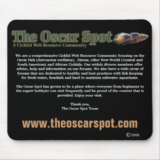 About The Oscar Spot Mouse Pad