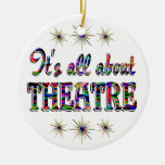 About Theatre Christmas Ornaments
