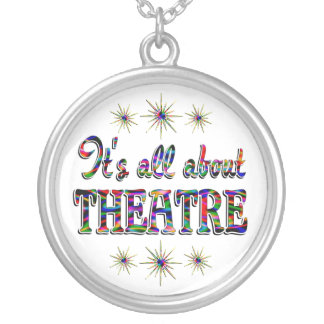 About Theatre Round Pendant Necklace