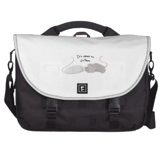 About To Go Down Laptop Commuter Bag