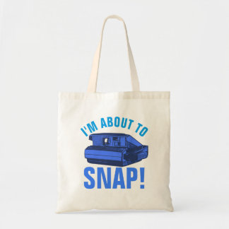 About to Snap Tote Bag