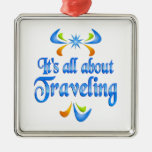 About Traveling Christmas Tree Ornament