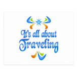 About Traveling Postcard