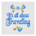 About Traveling Print