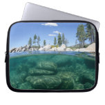 Above and below Lake Tahoe Laptop Sleeve