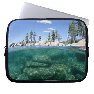 Above and below Lake Tahoe Laptop Sleeve