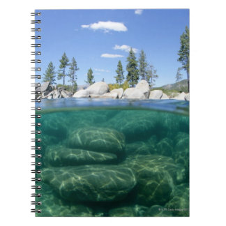Above and below Lake Tahoe Note Book