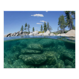 Above and below Lake Tahoe Posters