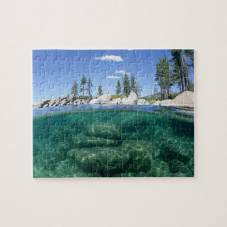 Above and below Lake Tahoe Puzzle