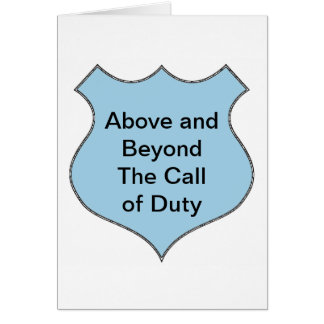 Above Beyond Call Of Duty Gifts on Zazzle