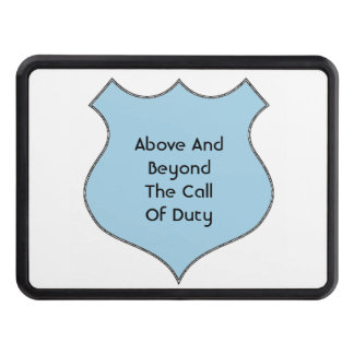 Above And Beyond The Call of Duty Hitch Cover