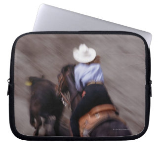 Above at Rodeo Laptop Computer Sleeve