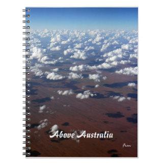 above Australia Notebook