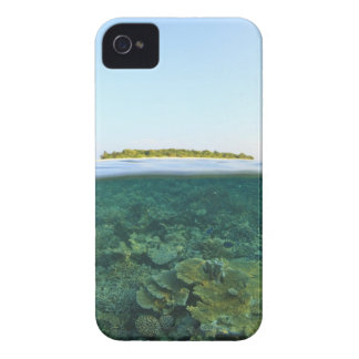 Above & Below View, Havodigalaa Island, South iPhone 4 Cover