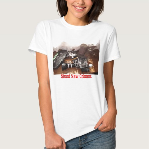 above cinema, Shoot New Orleans Tee Shirt