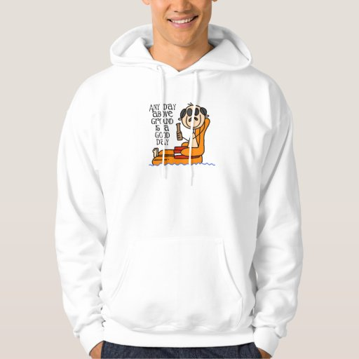 Above Ground Funny Hoodie